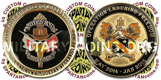 40th ESB Operation Enduring Freedom Coin